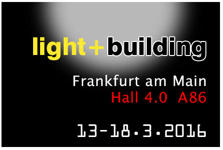 Welcome to 2016 Light+Building Exhibition